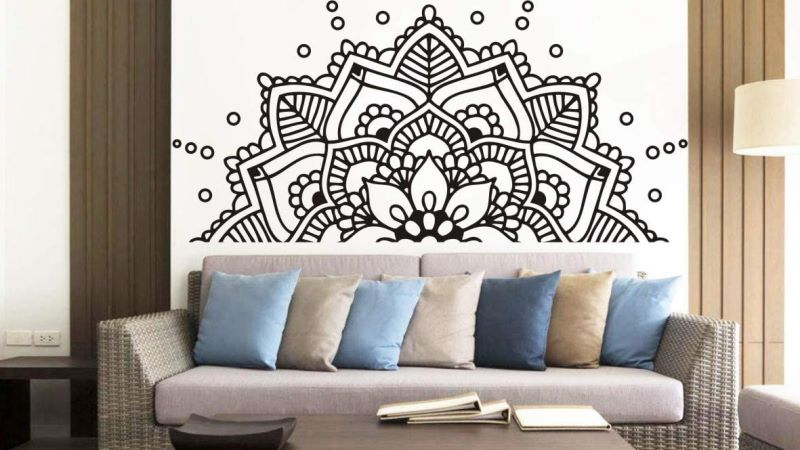 Peaceful Mandala Wall Art Inspiration