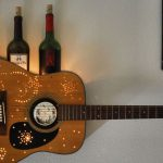How to Recycle Your Old Guitar for Modern Home Interior Use