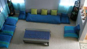 Upgrade Your Living Room with Wonderful Floor Seating Arrangements